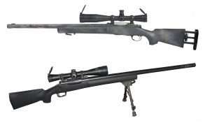 sniper weapons